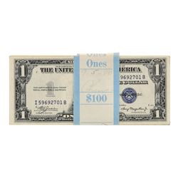 Pack of (100) Consecutive 1935A $1 Silver Certificate Notes