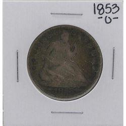 1853-O Liberty Seated Half Dollar Coin