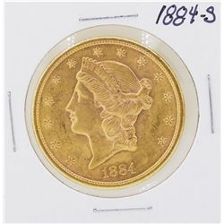 1884-S $20 Liberty Head Double Eagle Gold Coin