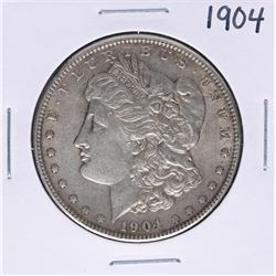 1904 $1 Morgan Silver Dollar Coin