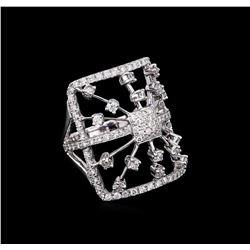 1.20 ctw Diamond Ring - 18KT White Gold