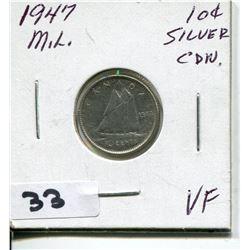 1947 CNDN SILVER DIME