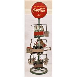 "Coca-Cola 6-Pack Stand ""Take Home A Carton"""