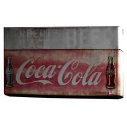 Coca Cola Double Bottle Sign