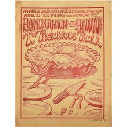 Ramon,Ramon And The Daddyo's Armadillo WHQ Poster