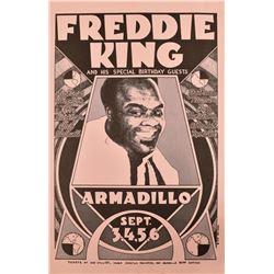 Freddie King Armadillo World HQ Poster