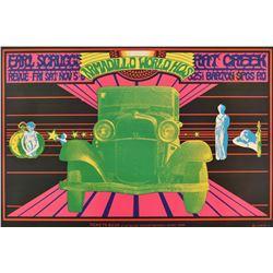 Armadillo World Headquarters Earl Scruggs Poster