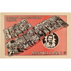 Bruce Springsteen Armadillo World HQ Poster