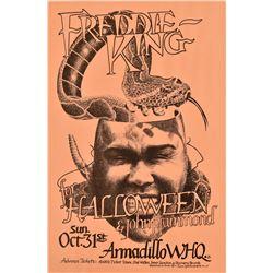 Freddie King  Armadillo WHQ Halloween Poster