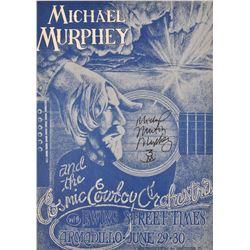 Micheal Murphy Armadillo World HQ Poster
