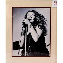 Large Janis Joplin Burton Photograph