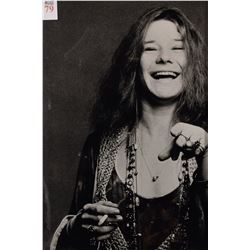 Large Janis Joplin Photograph