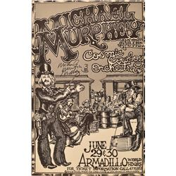 Michael Murphey Armadillo WHQ Poster