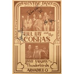 Armadillo WHQ Jimmie Vaughan & The Cobras Poster