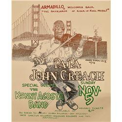 Papa John Creach at Armadillo World Headquarters