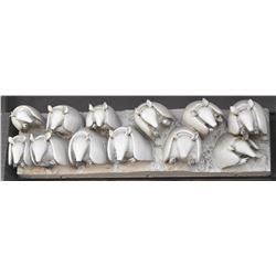 Jim Franklin Armadillos Architectural Sculpture