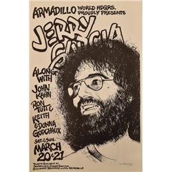 Jerry Garcia Armadillo World Headquarters Poster