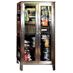 Metal Medical Display Cabinet