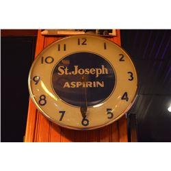 St. Joseph Aspirin Clock