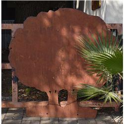Threadgill's Oak Tree Diecut Gate