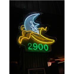 Banana Moon Neon Sign