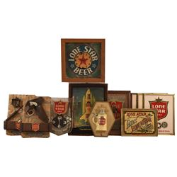 Collection of Vintage Lone Star Beer Advertising