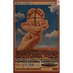 Armadillo World Headquarters Homecoming Poster