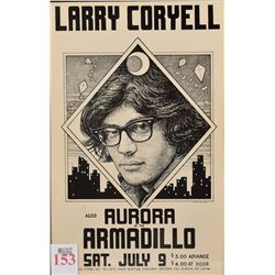 Larry Coryell, AWHQ Concert Poster