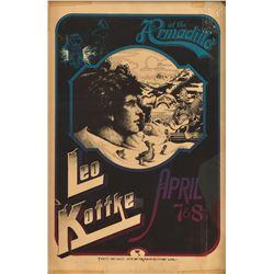 Leo Kottke Armadillo World Headquarters Poster
