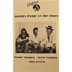 Antone's Stevie Ray Vaughan Concert Poster