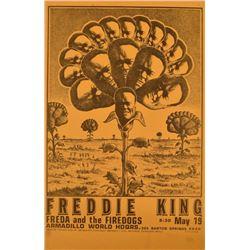 Freddie King Armadillo World Headquarters Poster