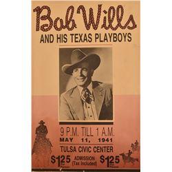 Bob Wills and The Texas Playboys Poster