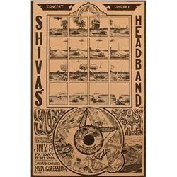 Jim Franklin Shiva's Headband Concert Poster