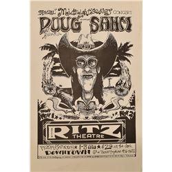 Doug Sahm, Austin Ritz Theatre Poster