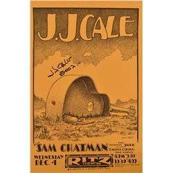 J.J. Cale Ritz Theatre Poster by Jim Franklin