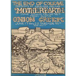 Jim Franklin Mother Earth Concert Poster