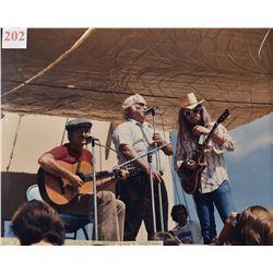 Willie Nelson, Threadgill, Leon Russell Photo