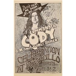 Armadillo World HQ Commander Cody Poster