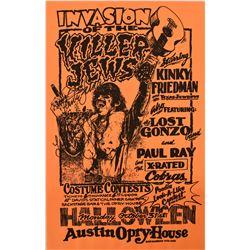 Kinky Friedman, Austin Opry House Halloween Poster