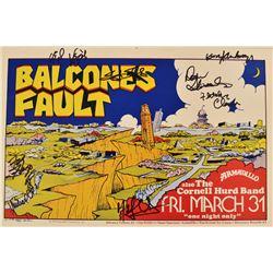 Armadillo World Headquarters Balcones Fault Poster
