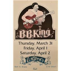 Antone's B.B. King Concert Poster