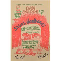 Shiva's Headband's 16th Anniversary Concert Poster