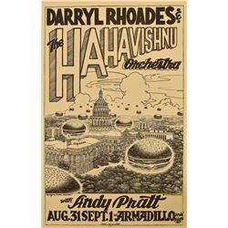 Armadillo World HQ Darryl Rhoades Poster