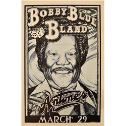 Antone's Bobby Blue Bland Concert Poster