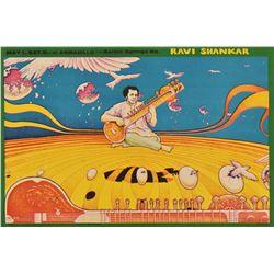 Armadillo World Headquarters Ravi Shankar Poster