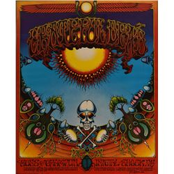 Grateful Dead Avalon Ballroom Concert Poster