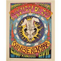 "Grateful Dead ""Dead Rabbit"" Concert Poster"