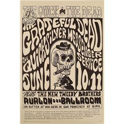 The Grateful Dead Avalon Ballroom Concert Poster