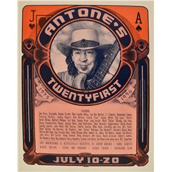 Stevie Ray Vaughan, Antone's 21 Anniversary Poster
