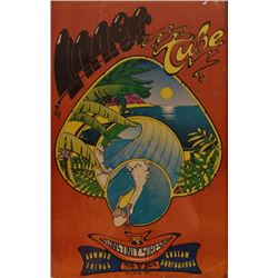 Inner Tube Austin Texas Surf Shop Poster